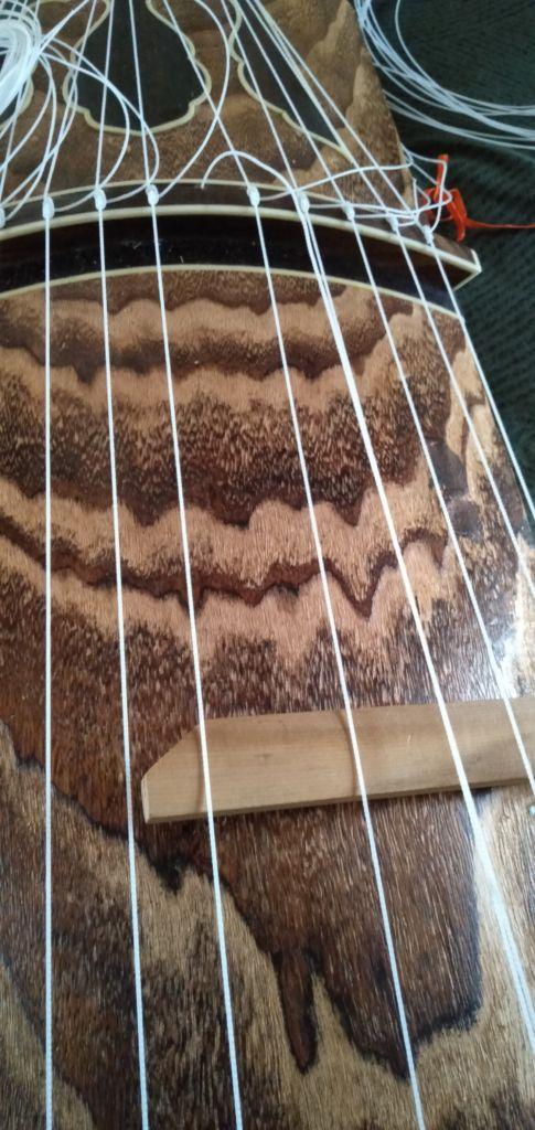 琴の糸締め 琴教室 岡崎市